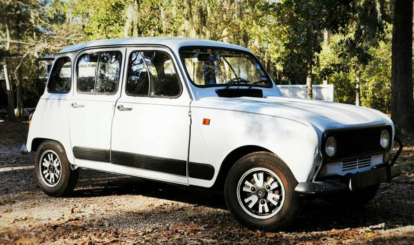 Daily Turismo Surprisingly Intact 1981 Renault 4 Gtl