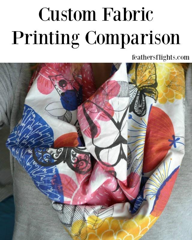 Custom Printed Fabric Comparison