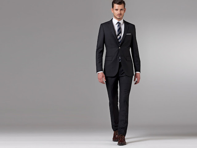 Indochino Black Suit Review