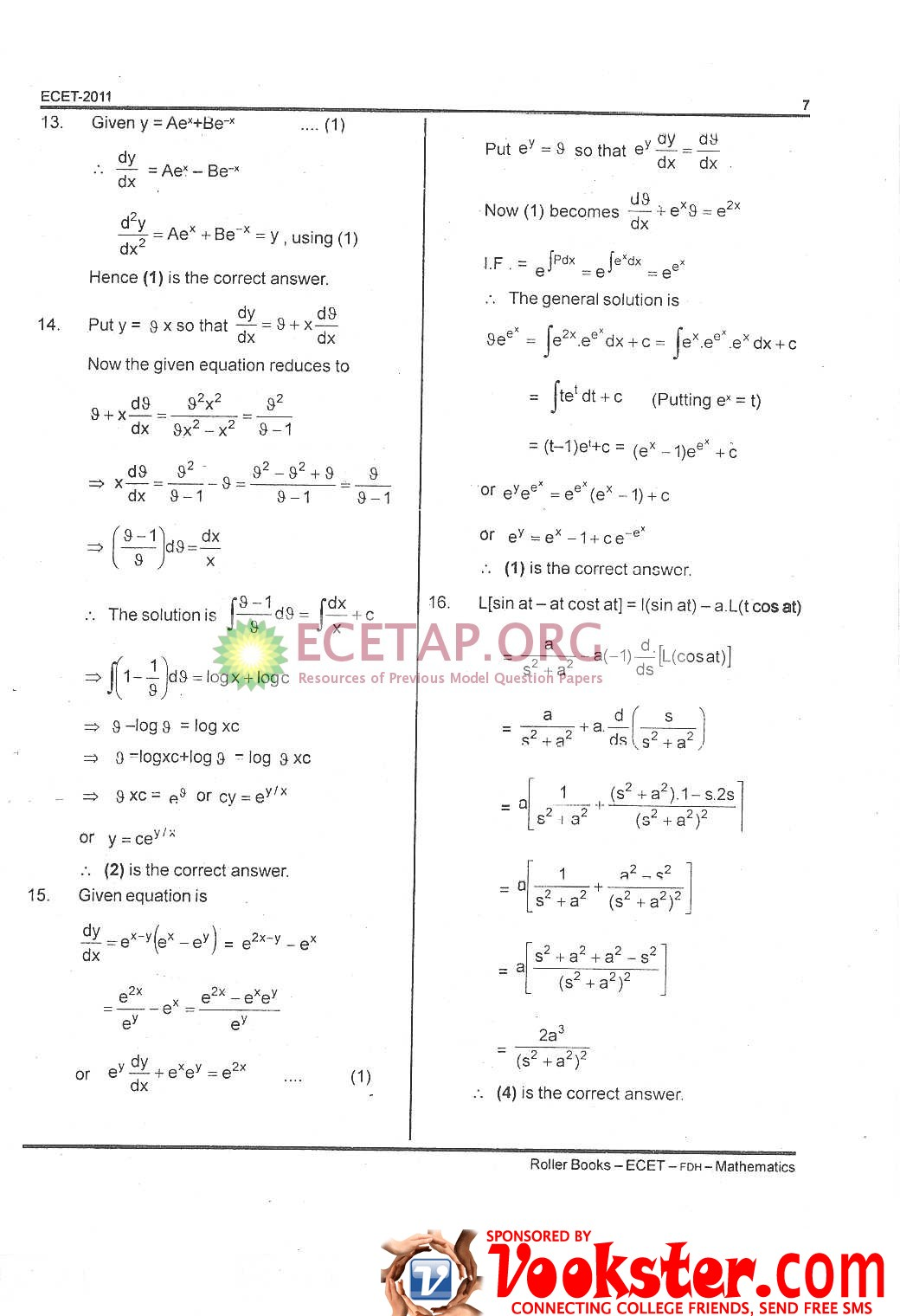 Ecet Model Papers For Mechanical Pdf