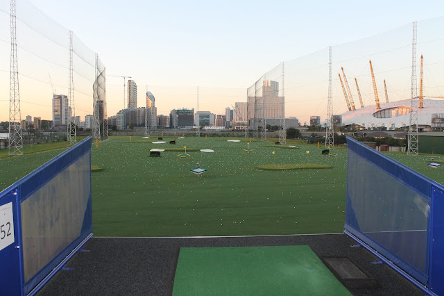 N1 Golf Range Greenwich Review - Golfing with Monarch Airlines