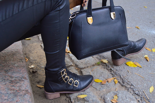 Carpisa Bag and Zaful Boots