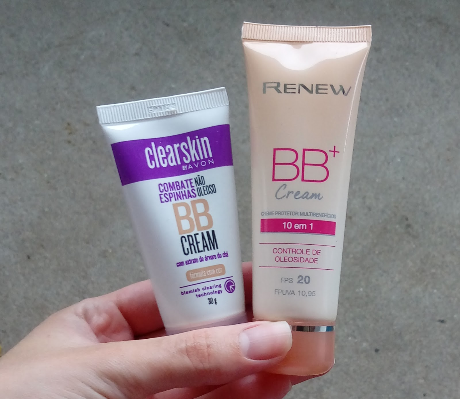 BB Cream Clearskin X BB Cream Renew