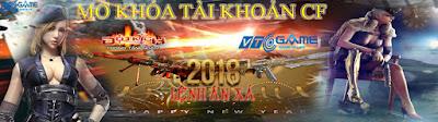 MỞ KHÓA TÀI KHOẢN CF 2018