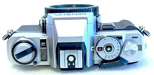 Minolta X-500, Top