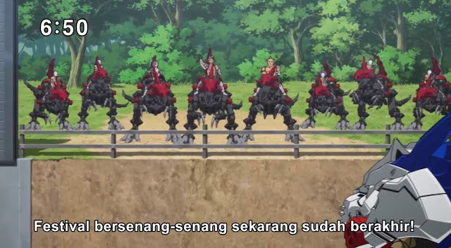 Zoids Wild Episode 06 Subtitle Indonesia