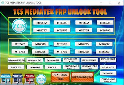 TCS Mediatek Frp Unlock Tool Free Download