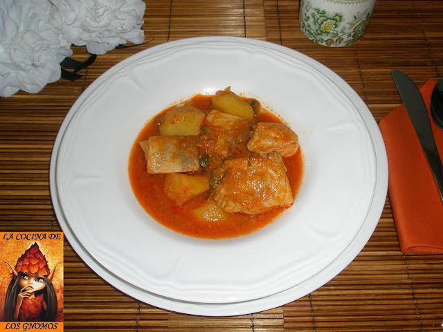 Marmitako de Bonito - La cocina de los gnomos