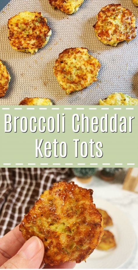 Broccoli And Cheddar Tots