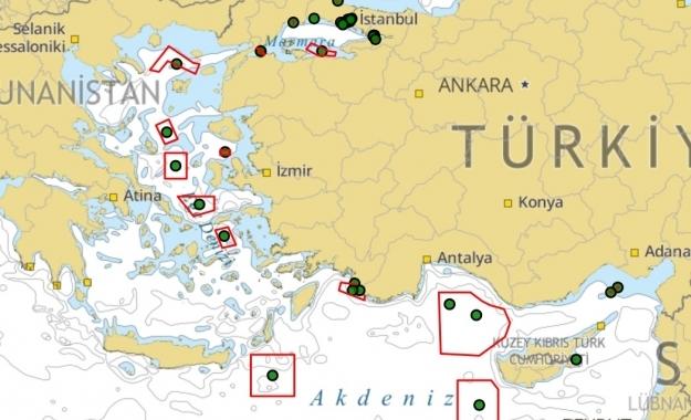 «Κοκκινίζει» τον χάρτη του Αιγαίου η Άγκυρα με ασκήσεις από Θάσο έως Καστελόριζο