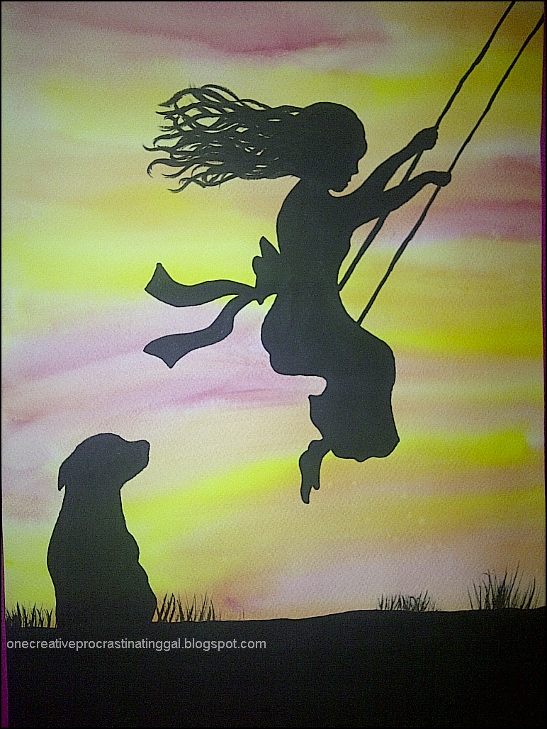 Consider Me Inspired Silhouette Paintings From Local Art
