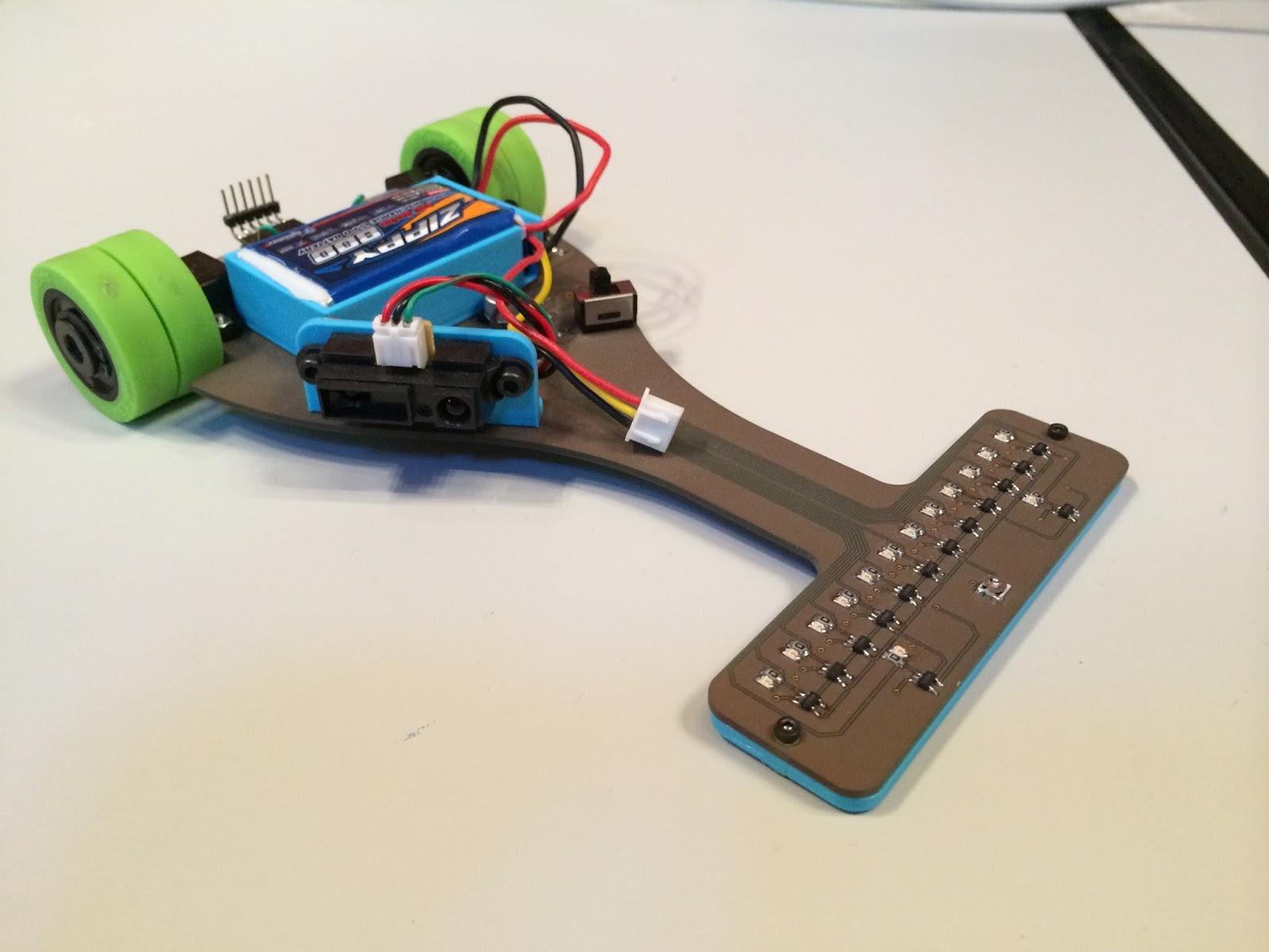 El programador subestándar robot lenin seguidor de linea