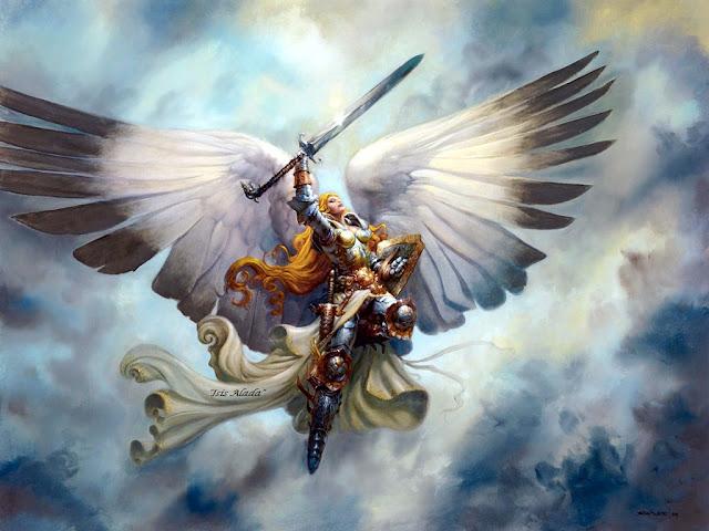 Resultado de imagen de arcangel miguel blog isis alada
