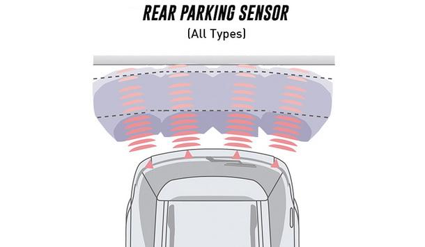 Rear Parking Sensor Toyota New Rush