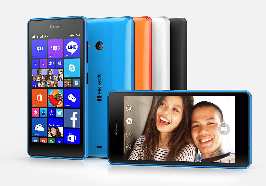 Spesifikasi dan harga  lumia 540, windowsphone dengan Cpu Quadcore