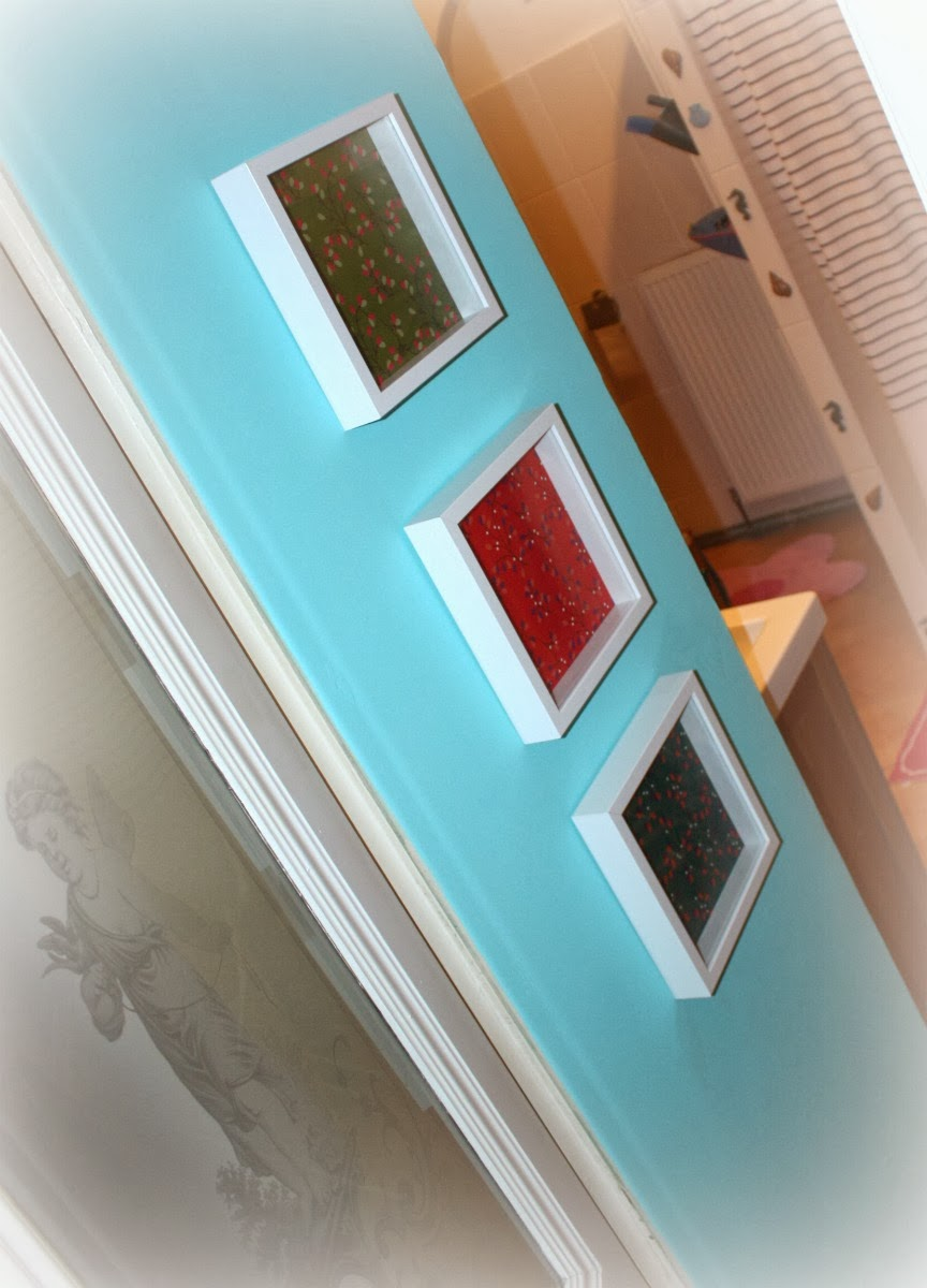 Kreativkäfer: rums mit neuer wandfarbe