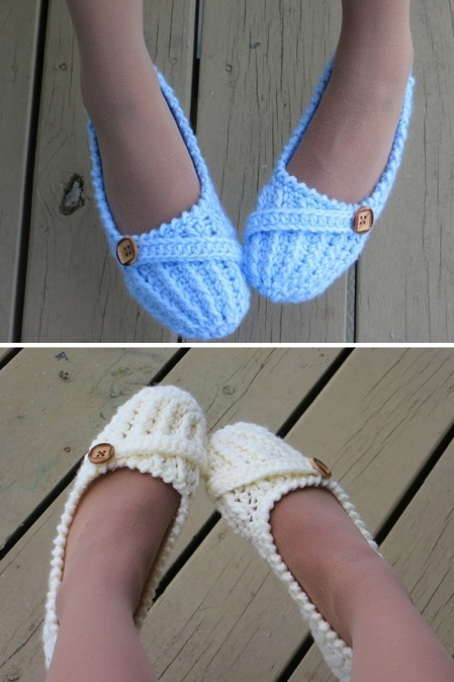 Anne Lee Slippers - Crochet Pattern