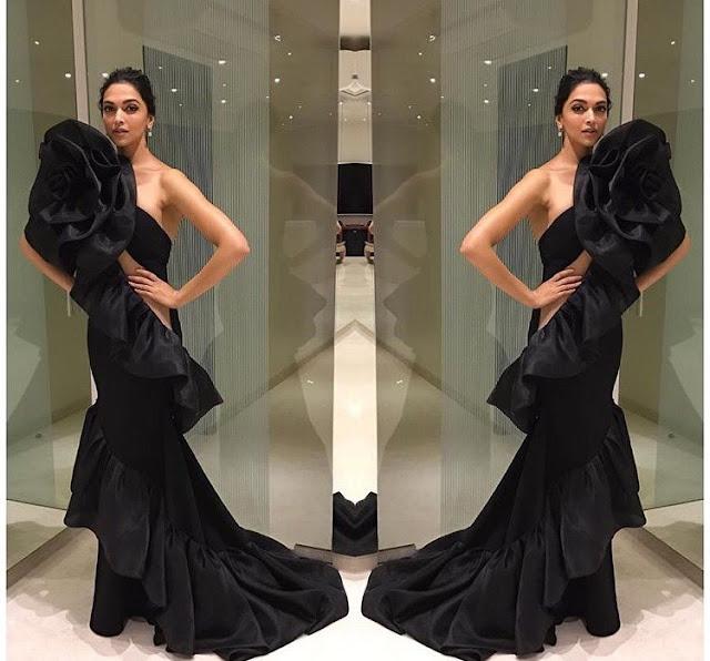 Deepika Padukone at Star Screen Awards 2016