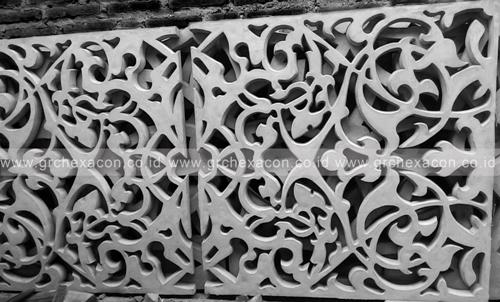 Grc Cladding Means What : Grc hexacon indonesia ornamen dan roster beton tips