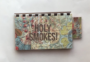 Handmade Chocolate 'Holy Smokes!' Blank Recipe book for Personal Recipes. Click image for info.
