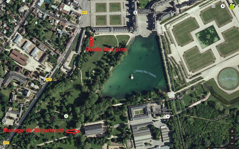 Plan jardin anglais gallery of duabord ce plan pour nous - Paysagiste fontainebleau ...