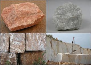 berbagai jenis batu marmer