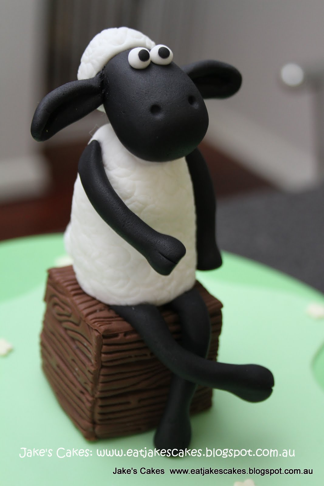 Jake S Cakes Shaun The Sheep Cake