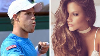 Diego Schwartzman and his Girlfriend Barbie Velez