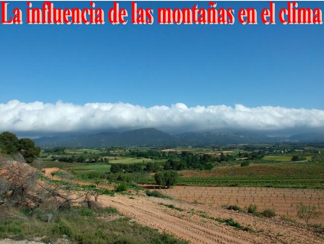 La influencia de las montañas en el clima