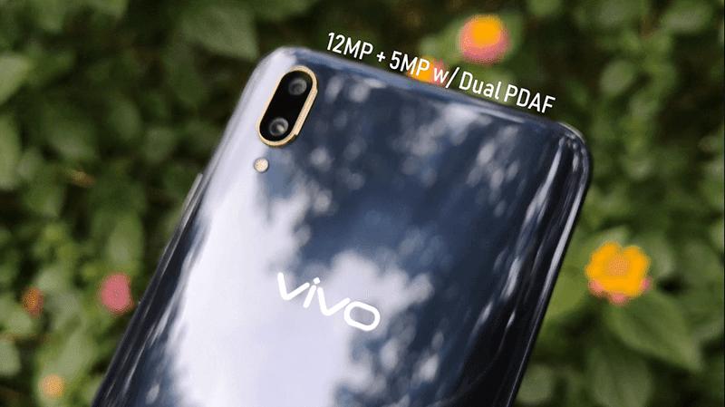 Vivo V11 has a 12MP + 5MP dual camera setup
