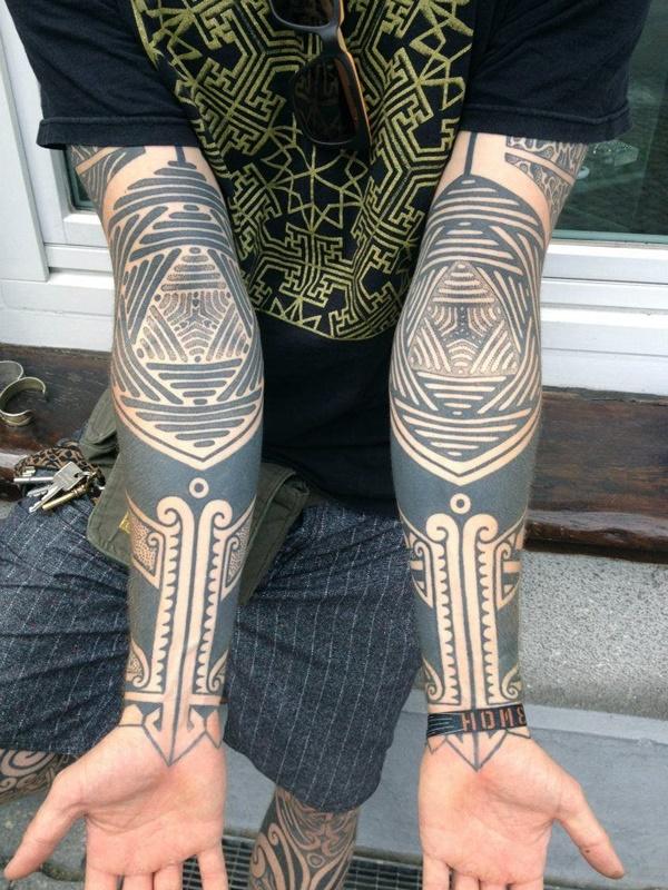 Tatuajes para antebrazo tribales