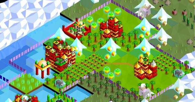 لعبة Super tribes