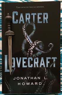 Portada del libro Carter & Lovecraft, de Jonathan L. Howard