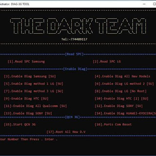 THE-DARK-TEAM DIAG-3G-ROOT