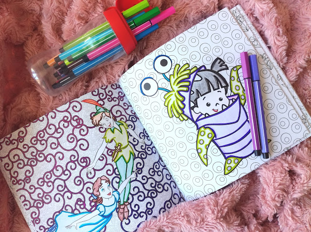 Coloriage Art therapy hachette Disney Babies