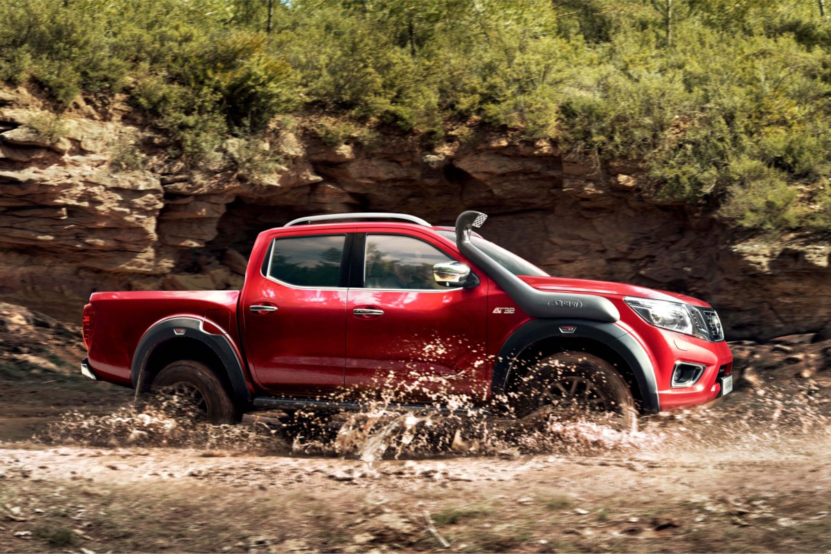 Nissan Navara OFF-ROADER AT32 is One Tough Pickup (w/ 7 ...