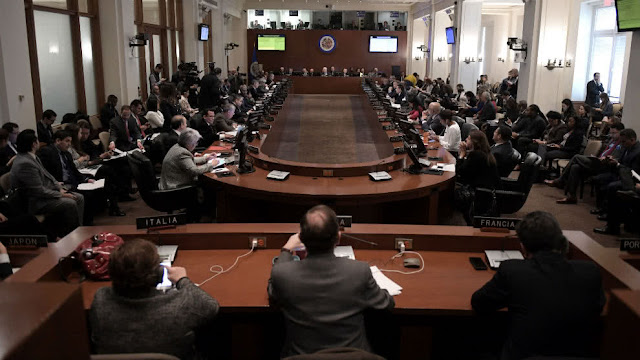 OEA aprobó resolución que urge permitir ingreso de ayuda humanitaria a Venezuela