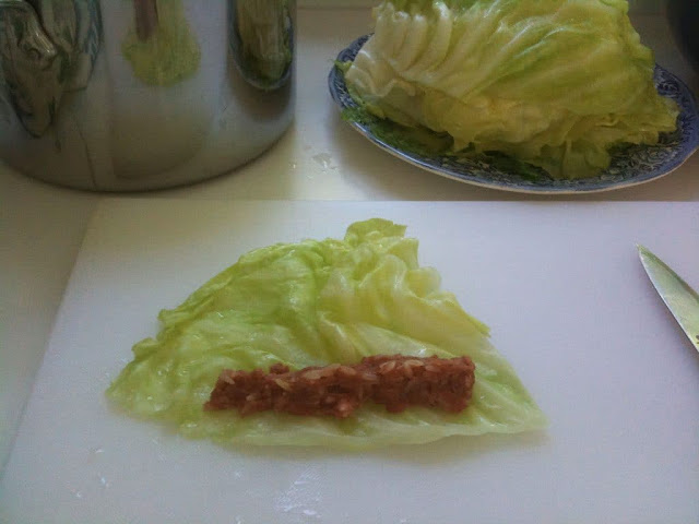 How to stuff cabbage