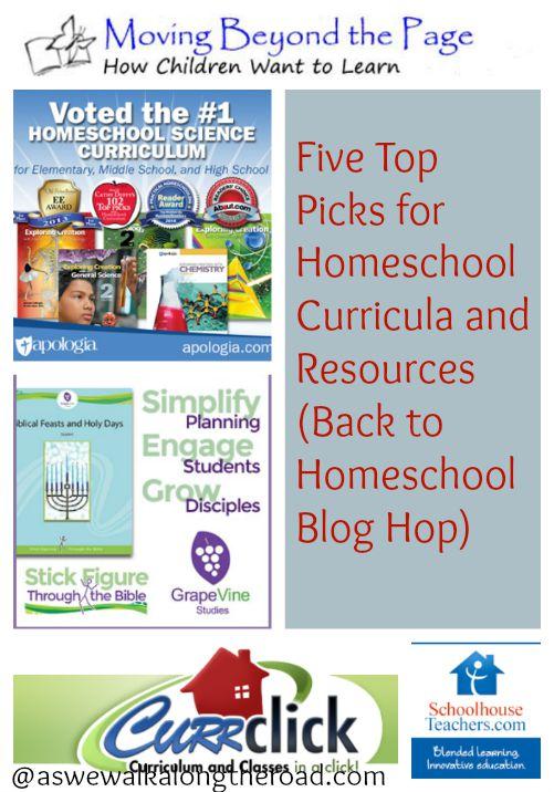 Five favorite curriculum resource sites