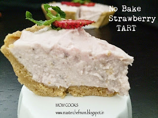 NO -BAKE STRAWBERRY TART
