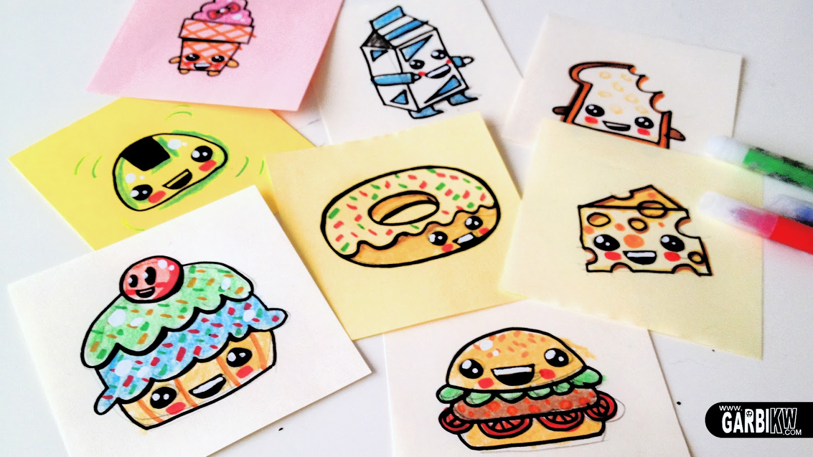 Como Dibujar Comida Kawaii Imagui