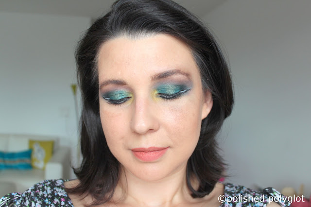 Monday Shadow Challenge Teal (bleu canard)