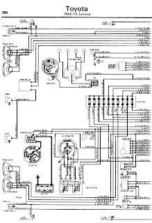 repairmanuals: Toyota Corona 196870 Wiring Diagrams