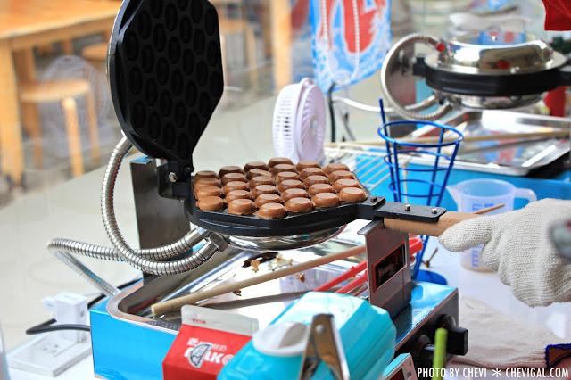 IMG 0296 - 一中商圈│藍箱處Blue Box-分子冰淇淋雞蛋仔*少女心的清爽夢幻逸品。隱身在巷弄間的IG打卡新景點
