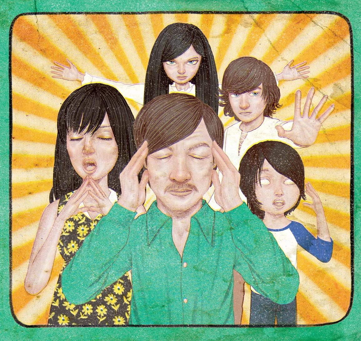 Ilustración de Jason Raish · La extraordinaria familia Telemacus ...