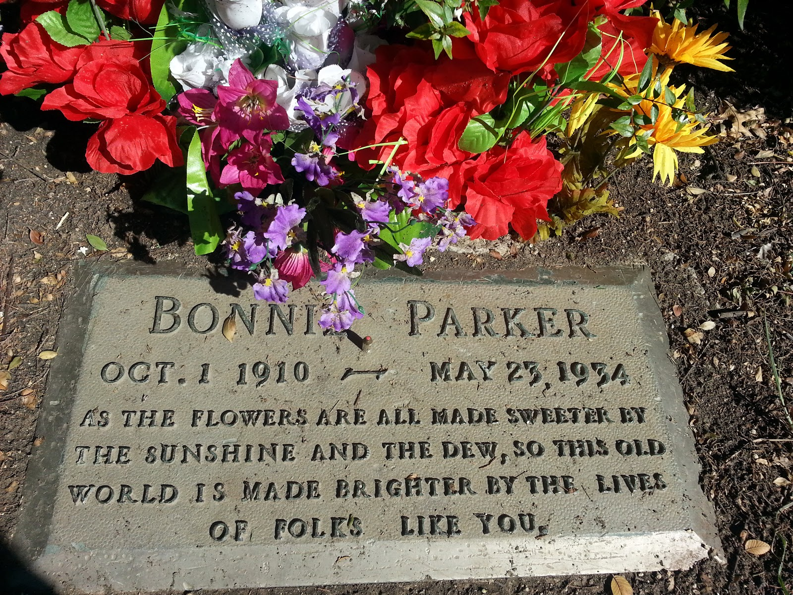 The Real Bonnie And Clyde Grave | www.pixshark.com ...