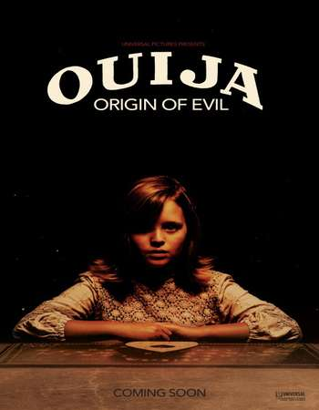 Poster Of Ouija: Origin of Evil 2016 English 400MB BluRay 720p ESubs HEVC Free Download Watch Online Downloadhub.Net