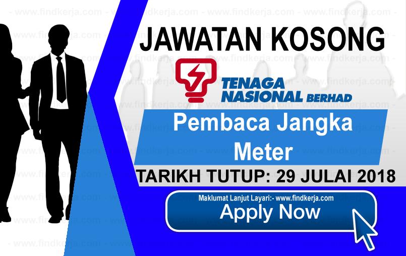 Jawatan Kerja Kosong TNB - Tenaga Nasional Berhad logo www.ohjob.info www.findkerja.com julai 2018