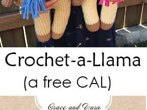 Crochet A Llama - A Free CAL