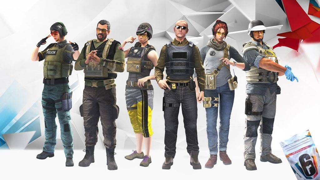 Six invitational 2019 collection packs